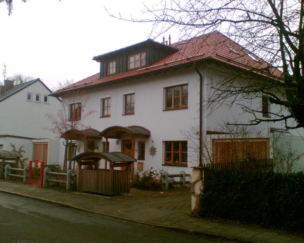 Doppelhausvilla in Pasing