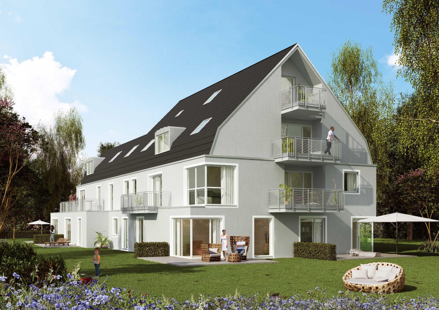 mehrfamilienhaus mit tiefgarage m nchen forstenried. Black Bedroom Furniture Sets. Home Design Ideas